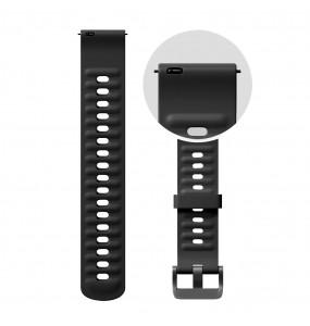Pasek Amazfit Strap Fluororubber 22mm Black